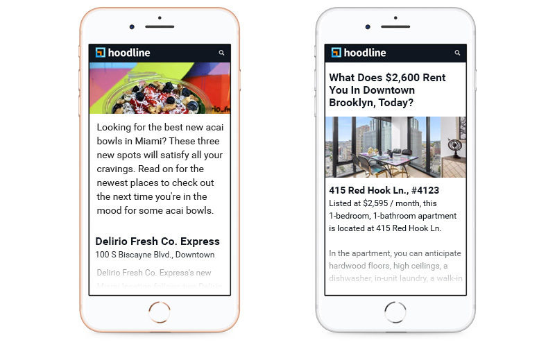 Hoodline Mobile Examples 1