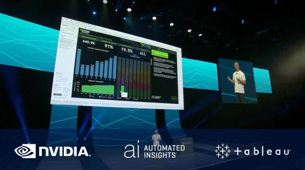NVIDIA + Automated Insights + Tableau
