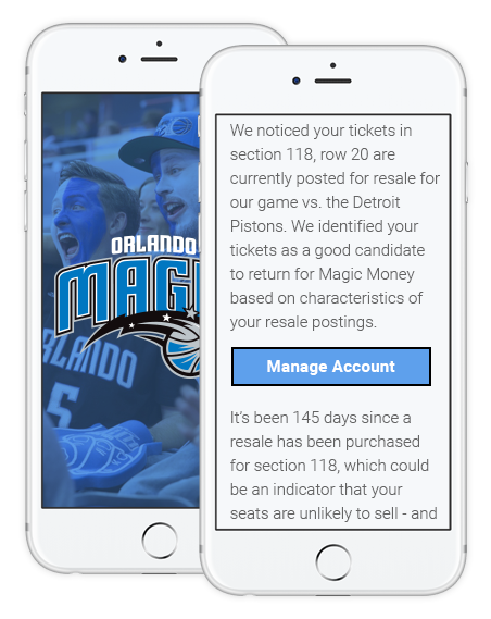 Orlando Magic Wordsmith Customer Communications