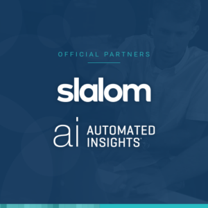 Slalom parters with Automated Insights